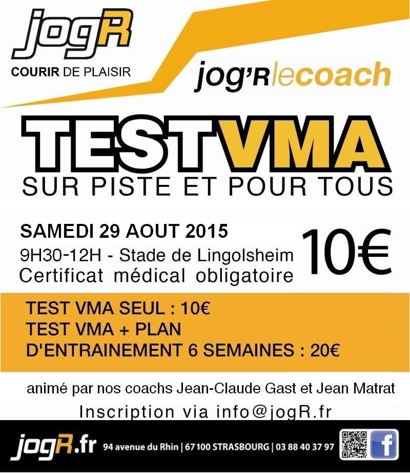 Test VMA coach strasbourg